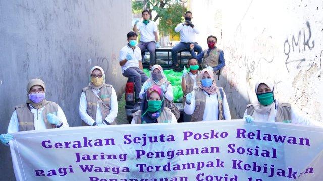 Gerakan Sejuta Posko Relawan Jaring Pengaman Sosial Kembali Bergerak.