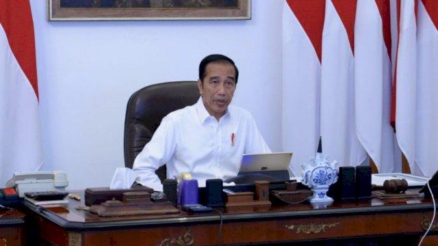'Lawan' Corona, Presiden Jokowi Serukan Kedisiplinan dan Tetap Dirumah!