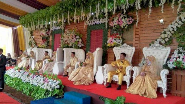 Pemkot Makassar Bolehkan Warga Gelar Resepsi Pernikahan, Polda Janji Tetap Bubarkan Kerumunan Warga
