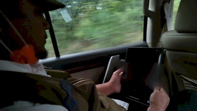 Di Perjalanan, Wagub Sulsel Vicon Bersama Satgas Korgah KPK Bahas Evaluasi TL Hasil Pemeriksaan BPK