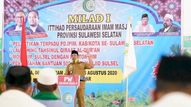 Dihadapan Para Imam Masjid, Wagub Ingatkan Masjid Jangan Dibawa Keranah Politik.