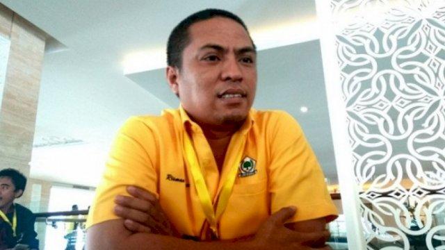 Koordinator Koalisi Muda Partai Golkar (KMPG), Muhammad Risman Pasigai