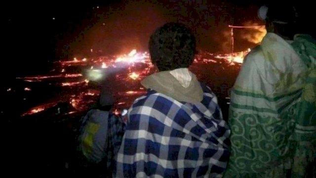 Tak Bisa Dilalui Mobil Damkar, Sebuah Rumah di Jeneponto Hangus Terbakar