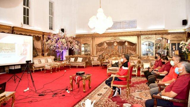 Gubernur Ikuti Haornas Ke-37 Bersama Presiden RI Secara Virtual