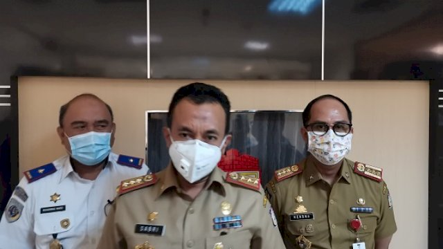 Antisipasi Penumpukan Kendaraan, Pemkot Makassar Perbanyak Jumlah Petugas Jaga di Perbatasan