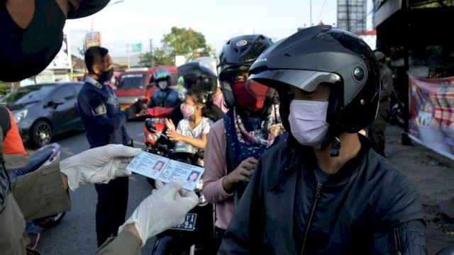 Mulai Akhir Pekan, Pemerintah Akan Batasi Lalu Lintas Masuk Makassar