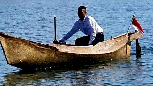Perjuangan Anak Nelayan Terjang Gelombang Laut Sejauh 17 Km Untuk Ikuti Seleksi Prajurit TNI AL