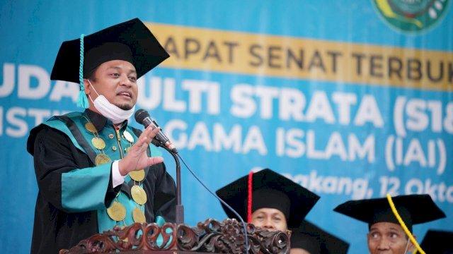 Wagub Sulsel Dorong IAI As'adiyah Sengkang Lahirkan Generasi Berakhlak Baik