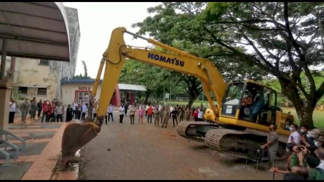 Stadion Mattoanging Mulai Direnovasi, Appi: Ayo Kita Dukung!