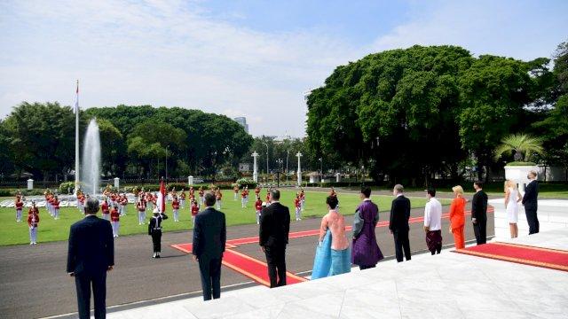 Presiden Jokowi Terima Surat Kepercayaan Tujuh Duta Besar Negara Sahabat<br>