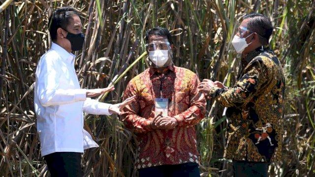 Presiden Jokowi Resmikan Pabrik Gula di Bombana<br>