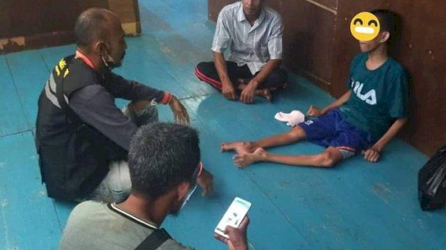 Peduli Masalah Sosial, Wagub Sulsel Utus Tim Salurkan Bantuan Warga Miskin dan Penderita CP di Sinjai