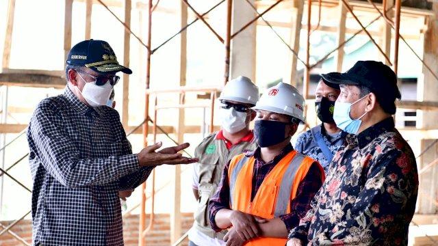 Gubernur Tinjau Rest Area Sidrap, Dilengkapi dengan Waterboom