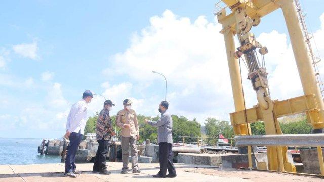 Gubernur Beri Perhatian Pelabuhan Pattumbukan dan Kawasan Perikanan Terpadu Selayar