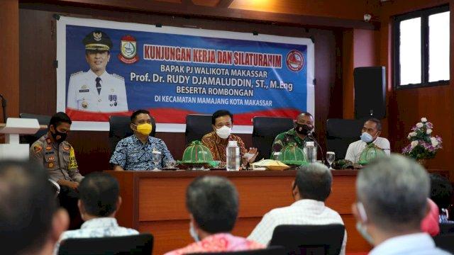 Camat Mamajang Dapat Apresiasi Pj Wali Kota Atas Kinerjanya Tangani Covid-19
