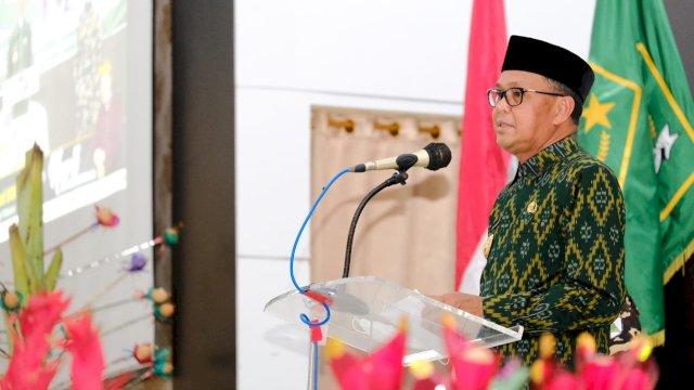 Gubernur Ajak Keluarga Besar NU Sulsel Ambil Peran Tangani Covid-19
