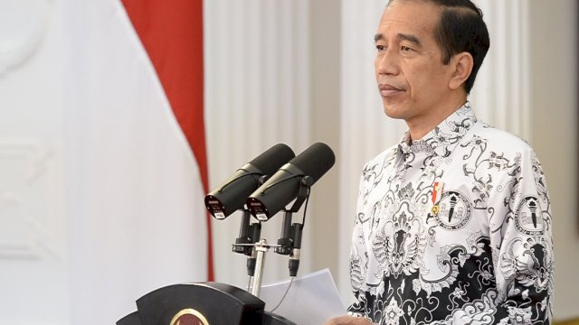 Presiden Jokowi Sampaikan Terima Kasih dan Apresiasi kepada Para Guru