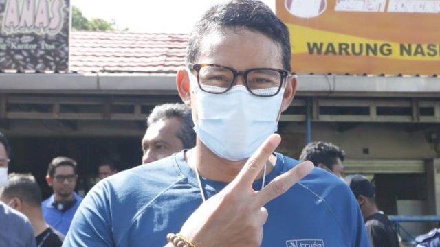 Pilkada Makassar, AHY dan Sandiaga Uno Kompak Dukung Appi-Rahman