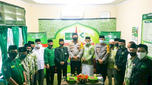 Kapolrestabes Makassar yang Baru Sowan ke NU, Minta Nasehat Ulama