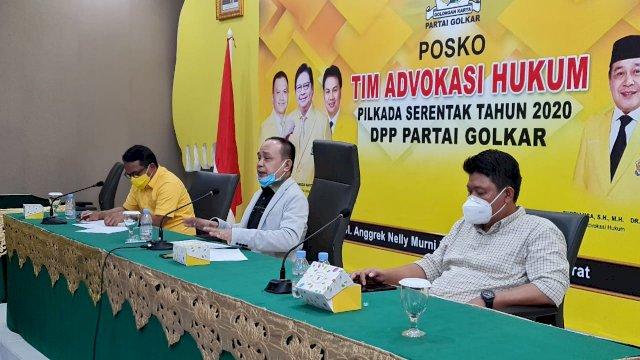 Pimpin Rapat Kordinasi, Supriansa Nyatakan DPP Golkar Siap Hadapi Gugatan Pilkada di MK