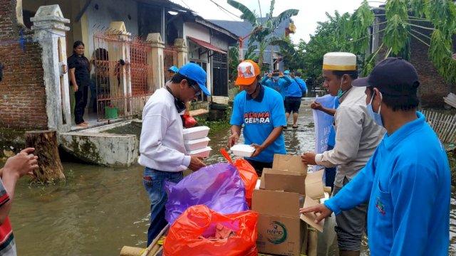 DPD Partai Gelora Makassar Peduli Korban Banjir