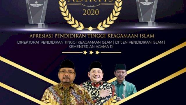 Adiktis 2020, Kemenag Apresiasi Capaian Perguruan Tinggi Keagamaan Islam Diktis