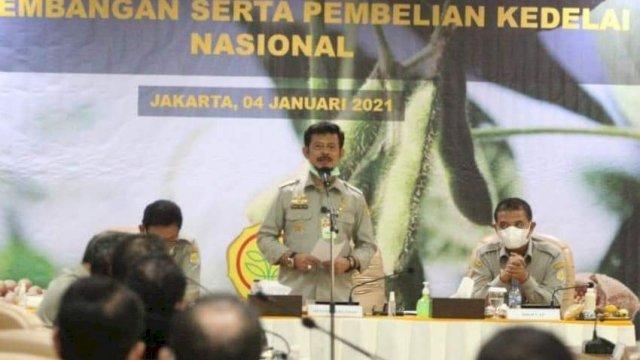 Tahun ini, Kementan Lipatgandakan Produksi Kedelai Nasional