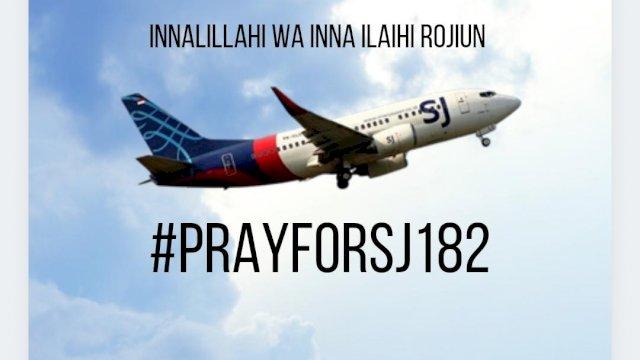 Wagub Sulsel Sampaikan Duka Mendalam Atas Hilangnya Pesawat Sriwijaya Air SJ 182
