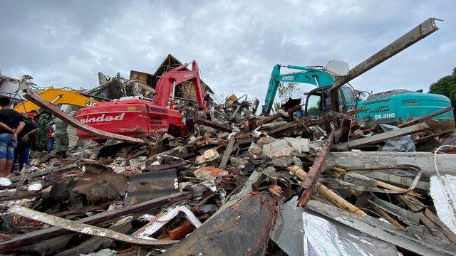 Misi Kemanusiaan Pemuda Kalonding Mamuju untuk Korban Gempa Sulbar