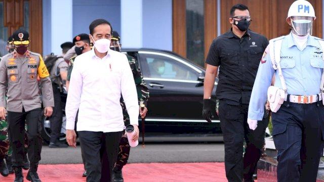 Presiden Jokowi Terbang ke Kalsel Tinjau Lokasi Terdampak Bencana Banjir