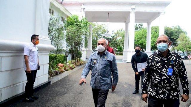 Isran Noor Diundang Jokowi Ke Istana, Bahas Covid-19 ?