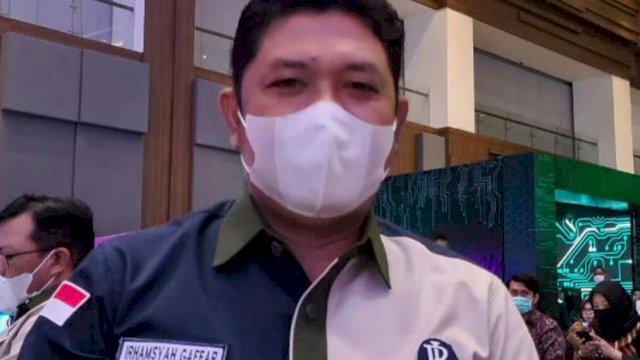 Dirut PD Parkir Makassar Raya, Irhamsyah Gaffar.(ist)