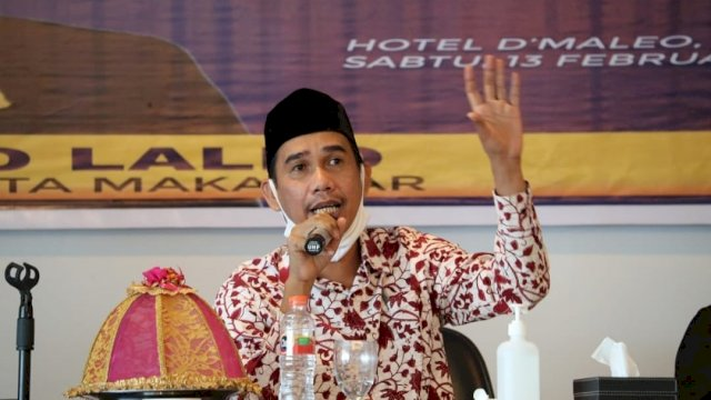 Ketua DPRD Makassar Rudianto Lallo Sosialisasi Perda Tentang Kepemudaan