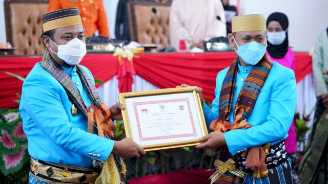 Wagub Hadiri Paripurna 61 Tahun Kabupaten Takalar, Bupati Akui Sosok Andi Sudirman yang Cerdas