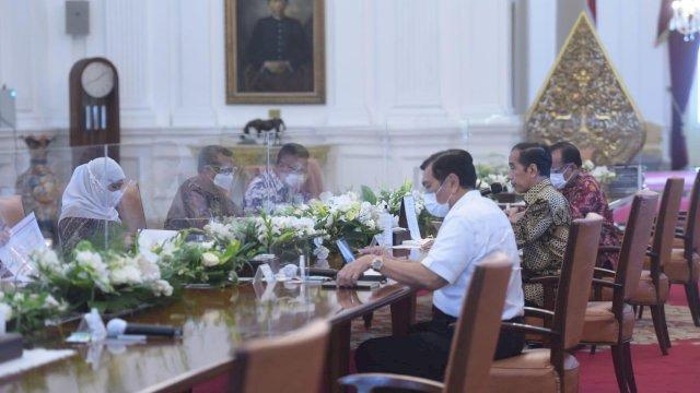 Presiden Jokowi Puji Penanganan Covid-19 dan Ekonomi di Sulsel
