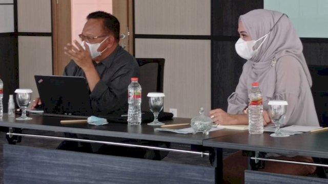 Tim Transisi dan Prof Wardihan Bahas Penangangan Covid-19