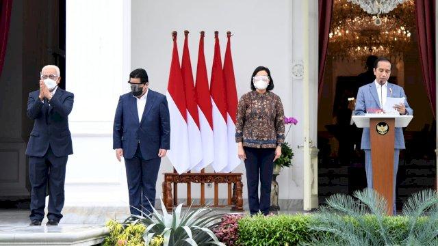 Jokowi Perkenalkan Lima Figur Direksi LPI, Ini Masing-masing Profilnya
