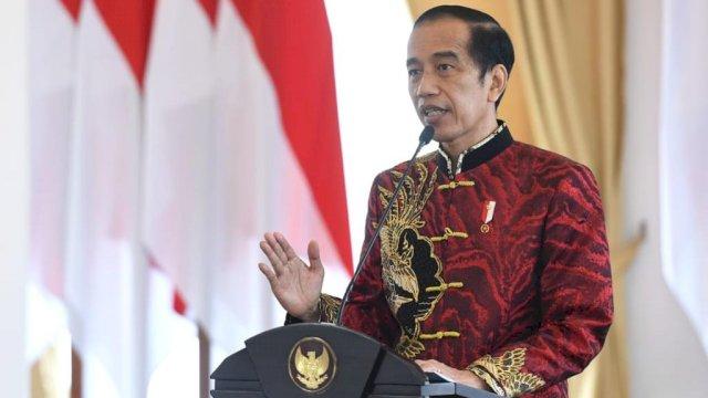 Hadiri Imlek Nasional, Jokowi Bicara Soal Kekuatan Kerbau dan Tantangan Pandemi
