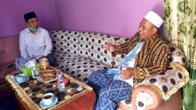 Cagub Sultra Bahtiar Maddatuang Temui Ketua MUI Konawe Selatan