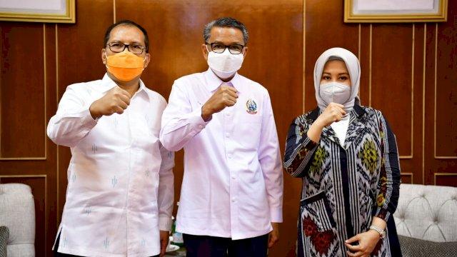 Gubernur Sulsel Buktikan Tak Punya Masalah Dengan Wali Kota Terpilih