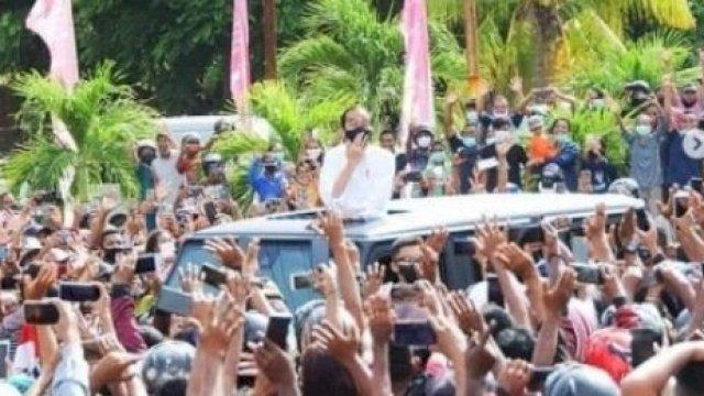 Kecewanya Kurnia, Polisi Tolak Laporan Kerumunan Jokowi di NTT