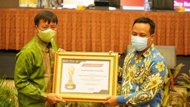 Terima TPAKD Award 2020, Andi Sudirman Sulaiman: Penghargaan Ini untuk Nurdin Abdullah