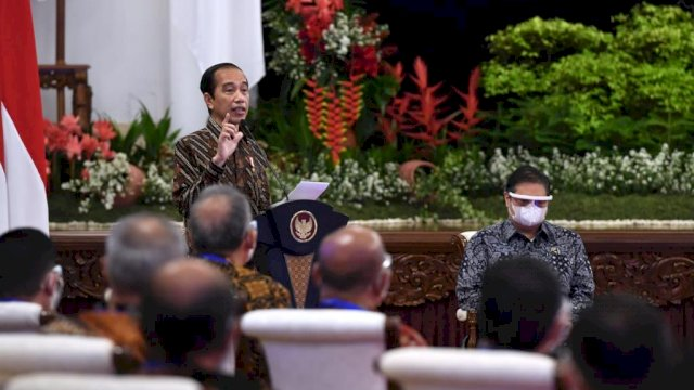 Sejumlah Arahan Presiden dalam Rakernas Kementerian Perdagangan