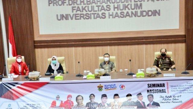 FH Unhas Gelar Seminar Nasional Hadirkan Para Pakar Hukum Indonesia