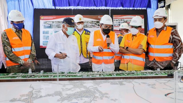 Jalan Tol Pettarani Resmi Di Operasikan, Wali Kota Makassar Sebut Mimpi Jadi Nyata