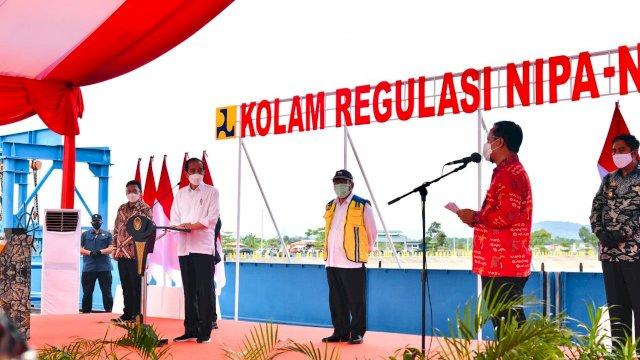 Ini Pidato dan Harapan Plt Gubernur Sulsel Kepada Presiden Jokowi