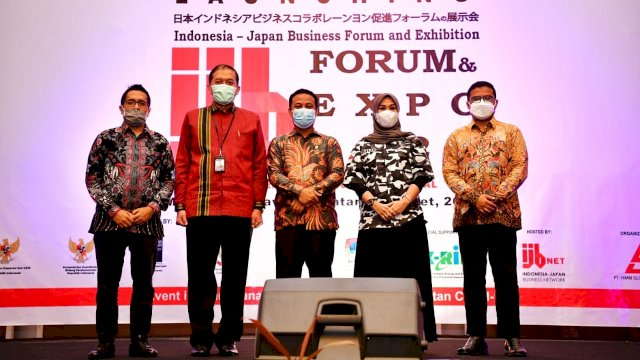 Plt Gubernur Launching Indonesia Jepang Bussines Forum and Exhibition