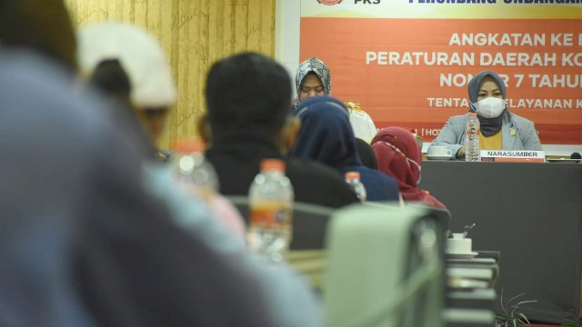 Anggota DPRD Makassar Andi Astiah ajak Masyarakat Terapkan Pola Hidup Sehat