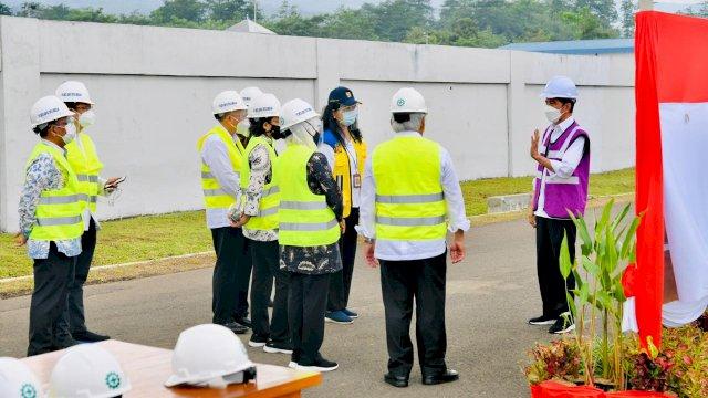 Resmikan Sistem Penyediaan Air Minum Umbulan, Presiden: Segera Selesaikan Sambungan ke Rumah Tangga