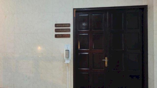 Kunci Ruang Kerja Gubernur Sulsel diganti Staf Biro Umum bukan Stafsus